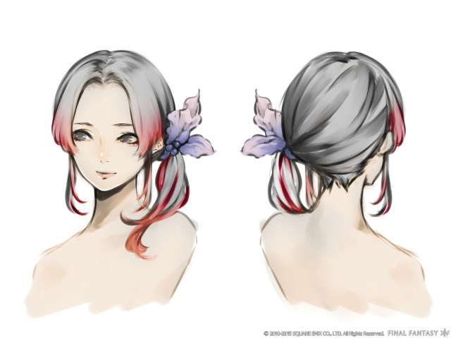 announcing the winners of the hairstyle design contest
