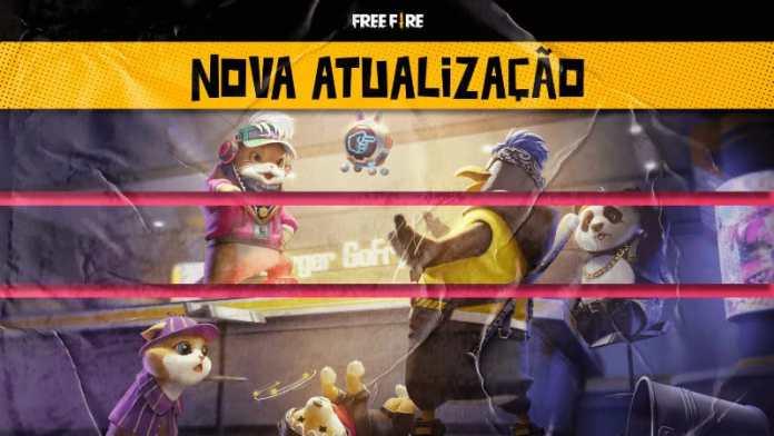 Free Fire Nova Atualização
