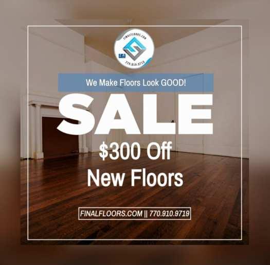 Atlanta flooring sales and installation company