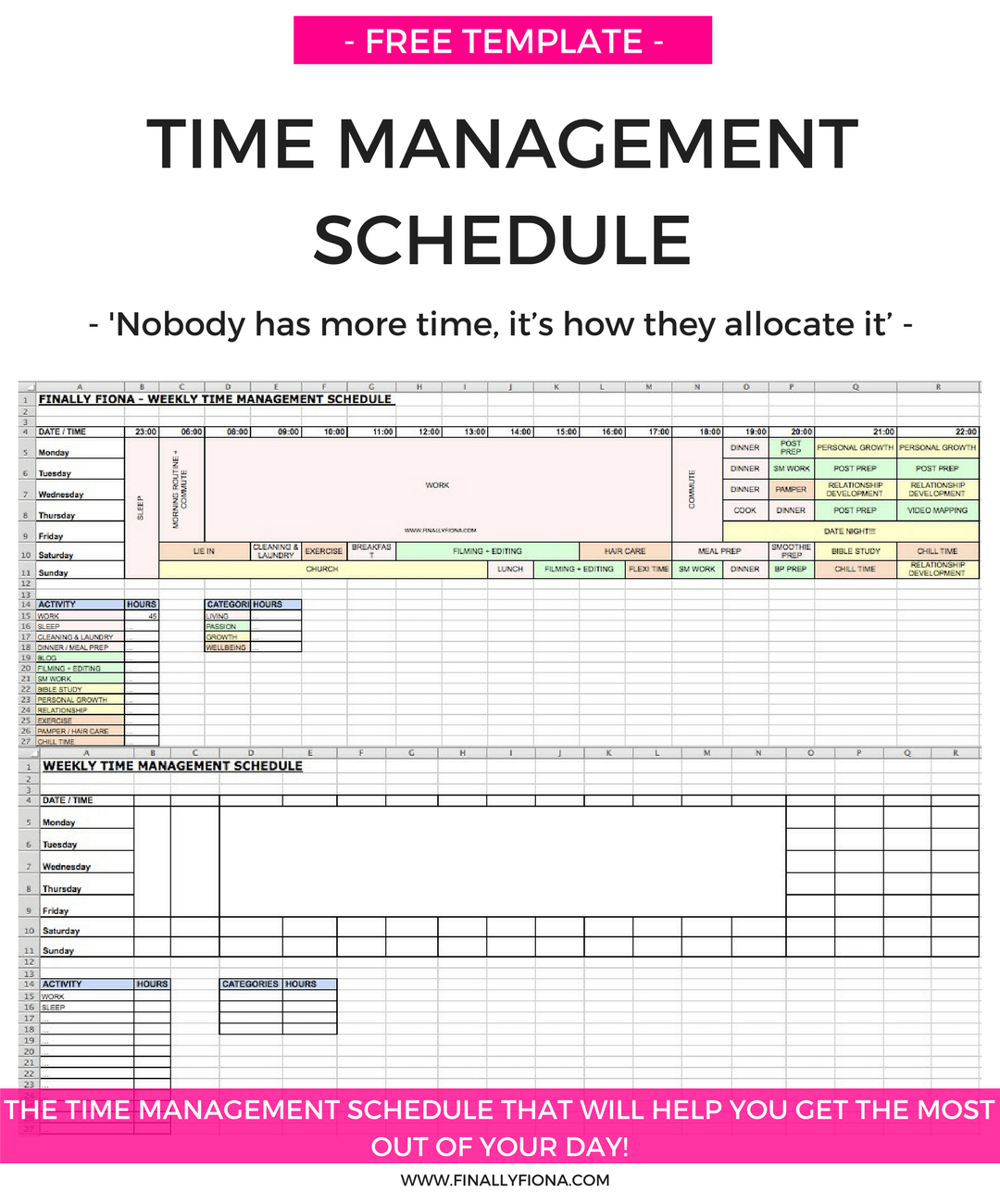 Daily Medication Schedule Worksheet