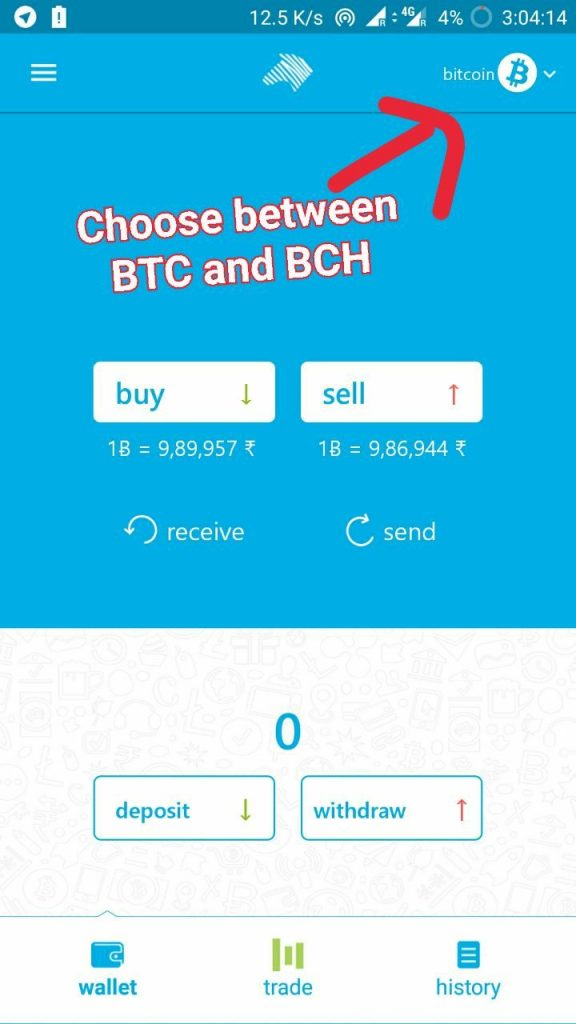 New Zebpay app allows trading in Bitcoin cash