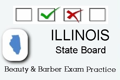 Illinois Exam Practice For State Board In Cosmetology Barber Esthetics Natural Hair Styling