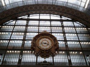 L'orologio Art Nouveau del Museo d'Orsay di Parigi