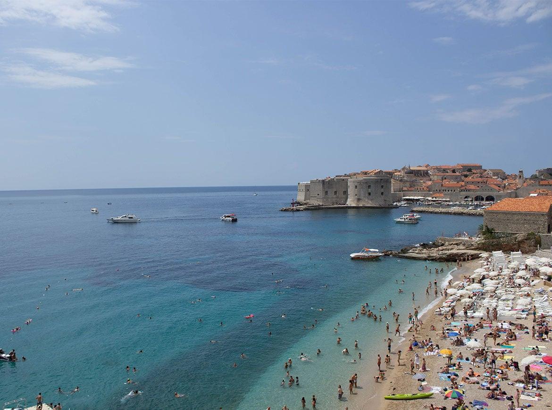 Banje Beach Dubrovnik