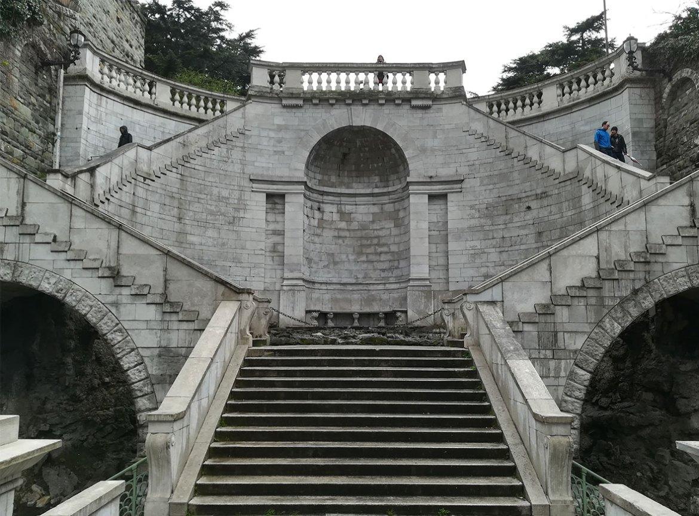 Scala dei Giganti a Trieste
