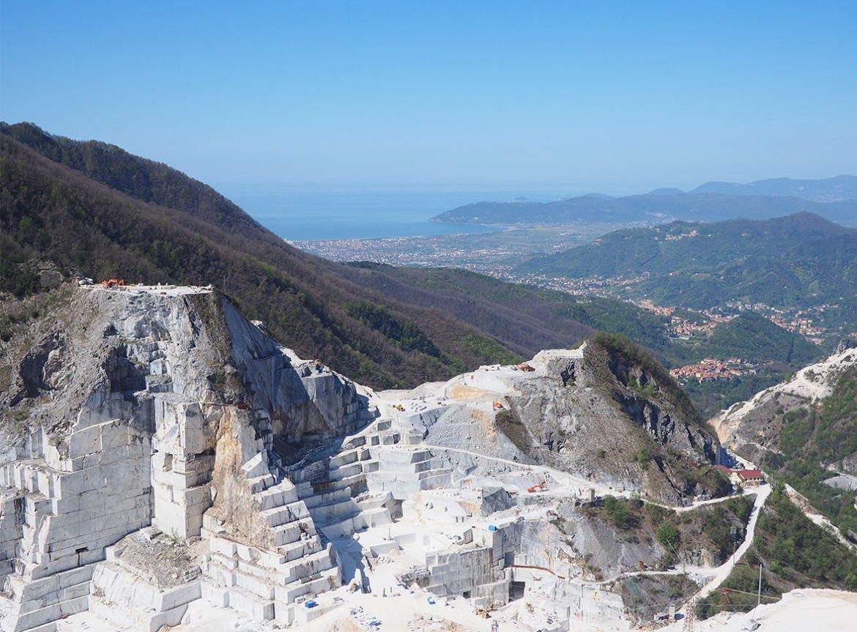 Cave di marmo delle Apuane