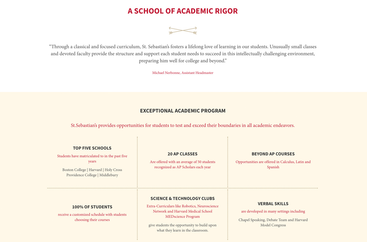 How To Build The Best Academics Page On Your School S Website