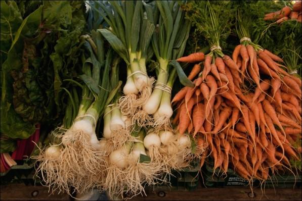 Garden vegetables (photo: Suhee Kang, FinalStraw.org)