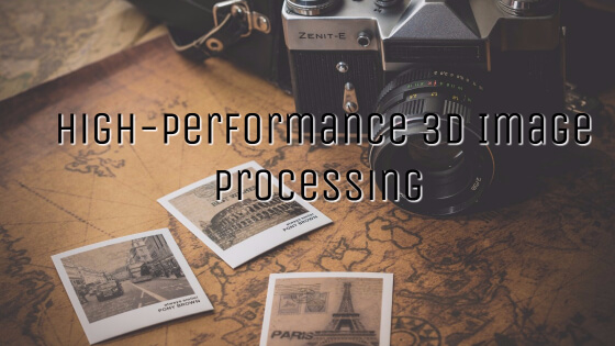 High-Performance 3D Image Processing Architectures for Image-Guided Interventions