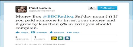 Paul Lewis Tweet 1