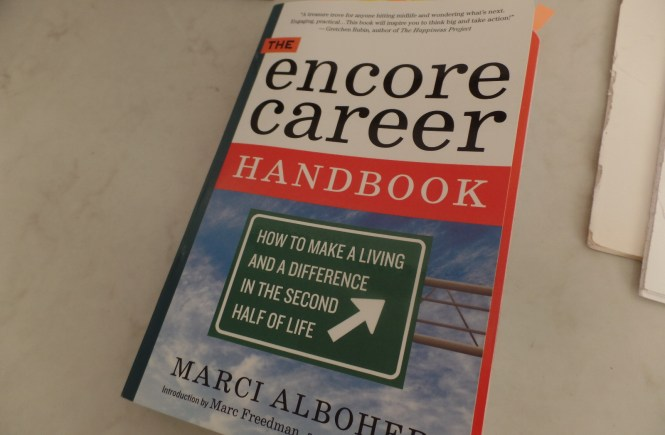 Encore Career book