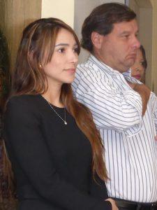 Printu.co's CMO Alicia Santa (l) and Alvaro Quiján
