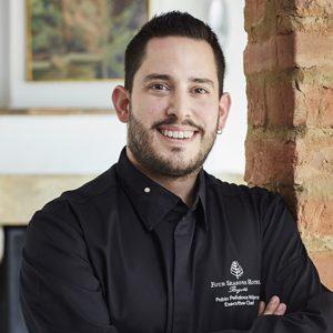 Executive Chef Pablo Peñalosa