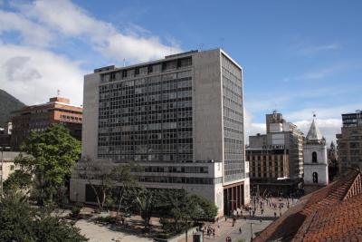 Bogotá headquarters of Banco de la República (Banrepublica). Photo credit Juan Enrique Rodríguez, courtesy Banrepublica