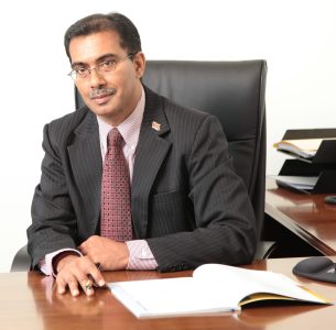 Varun Maharaj, CEO of the Trinidad and Tobago International Financial Centre
