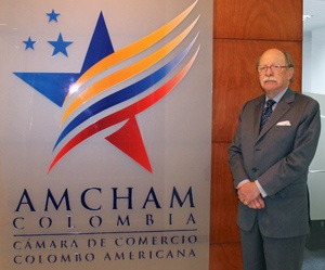Camilo Reyes Rodríguez, executive director of the Colombian American Chamber of Commerce.