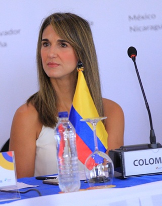 Yaneth Giha Tovar, Colombia's Minister of Education.