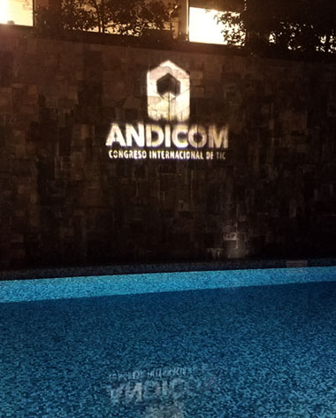 The Andicom 2017 launch event in Bogotá announced this year's program, which will be headlined by Colombia ITC Minister David Luna. (Credit: Jared Wade)