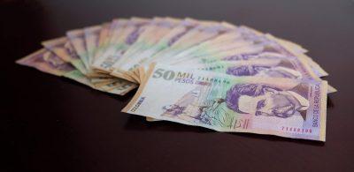 colombia inflation rate peso 50 mil banco de la republica central bank Colombian peso Colombia peso Colombia inflation