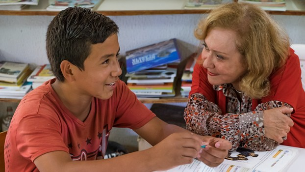Vicky Colbert, founder of Fundación Escuela, was the first recipient of the $3.8 million USD Yidan Prize for Educational Development. (Credit: Jared Wade)