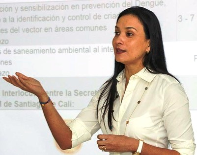 Secretary of Public Health for the city of Cali, Colombia, Miyerlandi Torres,