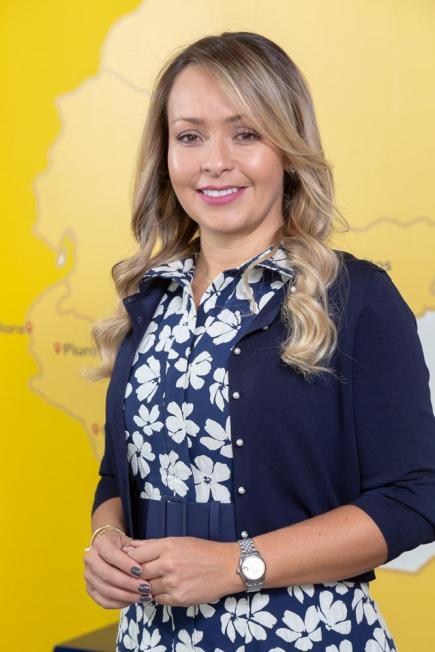 Mónica Gil, CEO of the Viva Air Foundation.