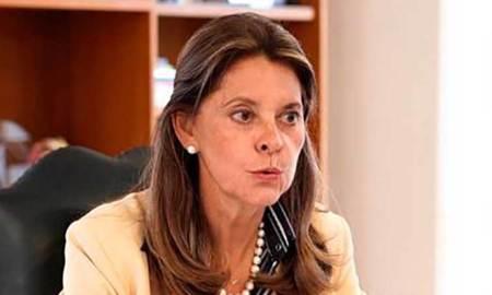 Photo of Marta Lucia Ramirez by Felipe Castaño, Vicepresidency of The Republic