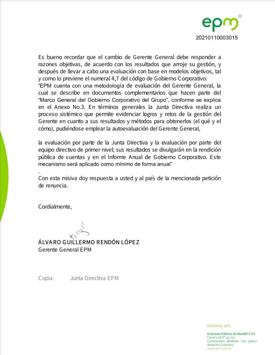 CEO Alvaro Rendón Dares Medellín Mayor Daniel Quintero To Fire Him