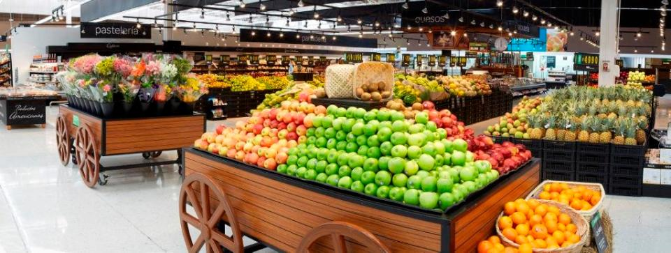 Cencosud Jumbo fruver produce section - Photo courtesy Cencosud Colombia