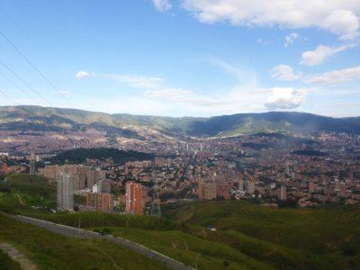 Medellin as viewed from San Javier. Photo credit: Loren Moss