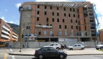 The new hotel is under construction at the corner of 7th Ave. and 116th St. on Bogotá's north side.