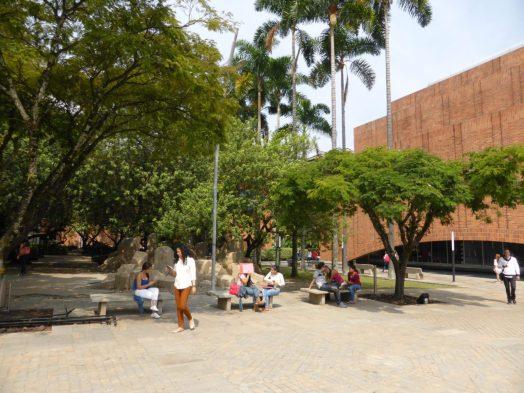 EAFIT's verdant campus on Medellin's south side.
