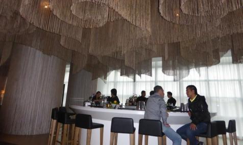W Hotel Bogotá's lobby bar