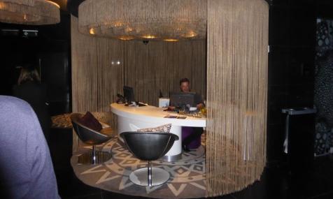 W Hotel Bogotá's concierge