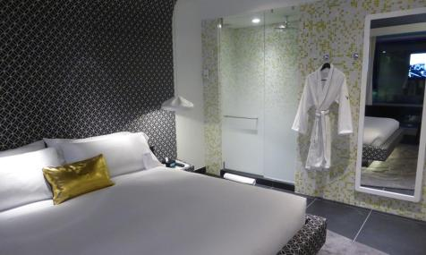 One of W Hotel Bogotá's guest rooms