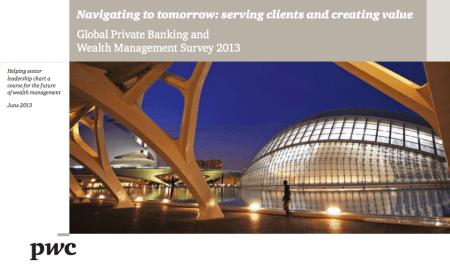 Finance Corner - Global Private Banking Survey 2013 - PwC