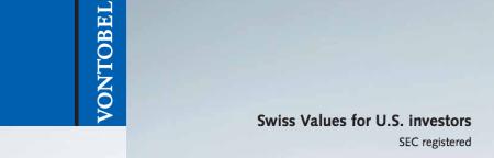 Finance Corner - Vontobel Swiss Wealth Advisors