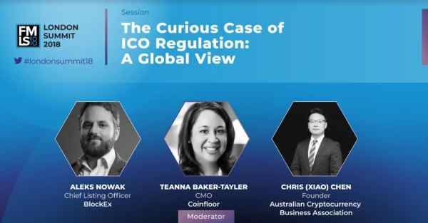 ICOs, london summit