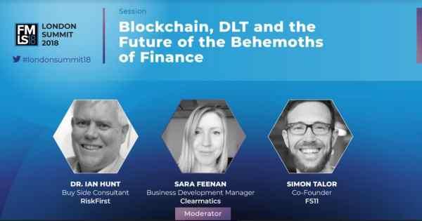 blockchain, London summit