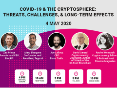 Crypto Leaders on COVID-19: Join us for a Free Live Webinar Monday, May 4th