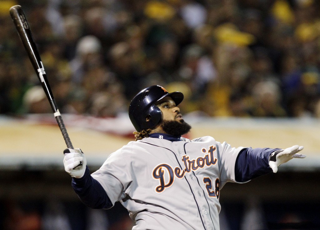 Prince Fielder, Detroit Tigers batter, 2013-2014 wallpaper