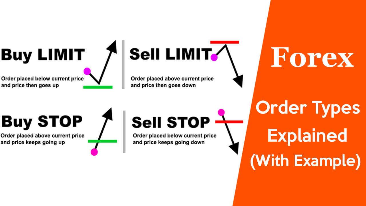 Forex Order Types Explained - Different Types of Forex Orders