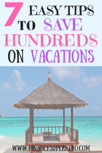 Need to get away for a while without spending a fortune? Read these 7 tips to save money on vacations & avoid debt, overspending, & wasting money by planning ahead, saving, and using websites/apps to score deals.
