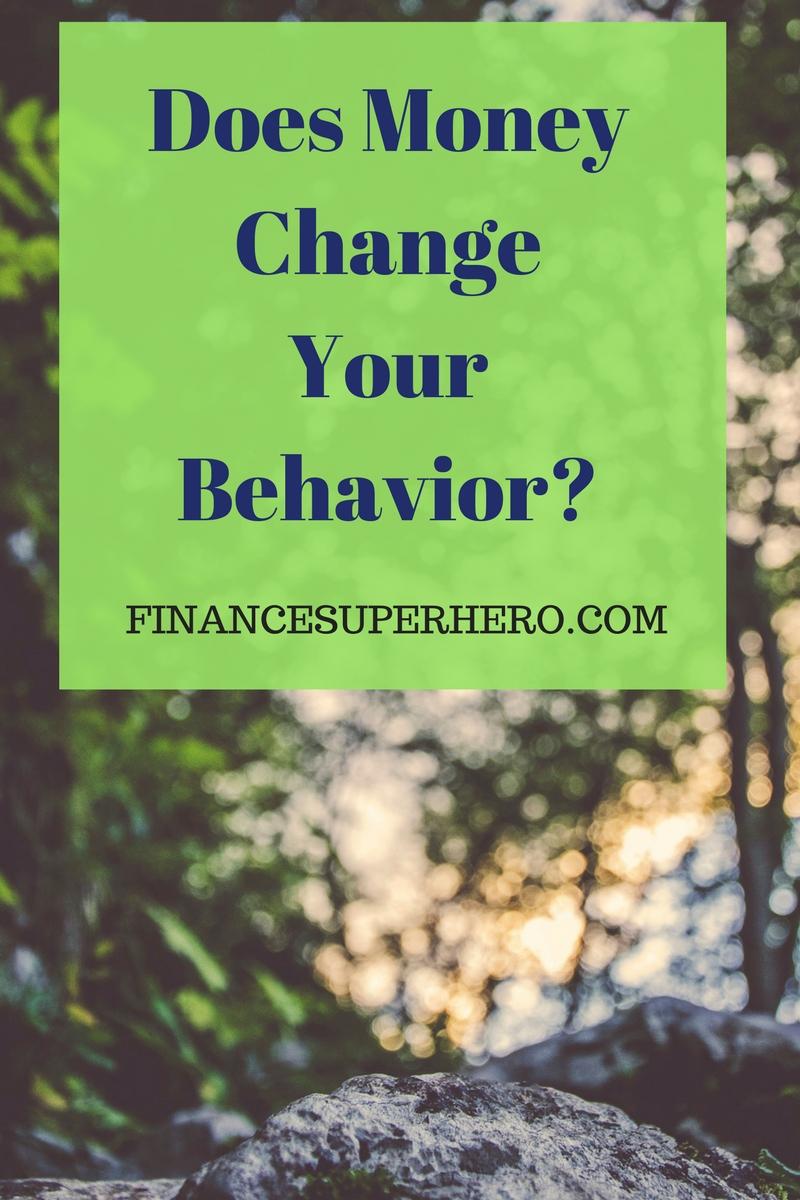 The Link Between Money and Behavior