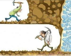 fine line between success and failure
