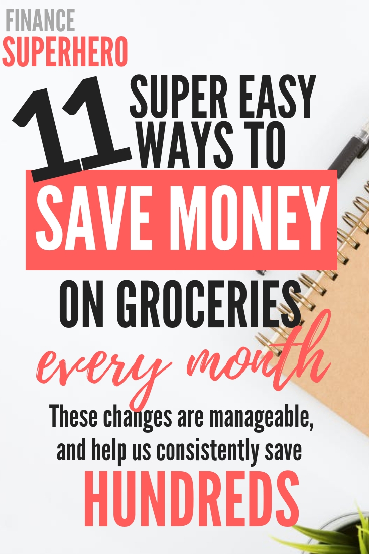 Are you pulling your hair out over rising grocery costs? You are not alone. In this post, we're sharing 11 ways we have cut our grocery bill nearly in half without reducing the quality of our diet or spending hours couponing. If you're looking to save money on food, this is just about as easy as it gets!