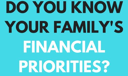 HOW TO DETERMINE FINANCIAL PRIORITIES