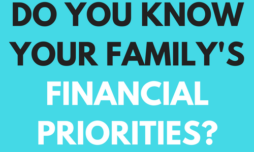 HOW TO DETERMINE FINANCIAL PRIORITIES
