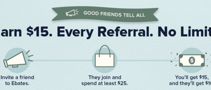 Ebates guidlines for referrals - best money making apps