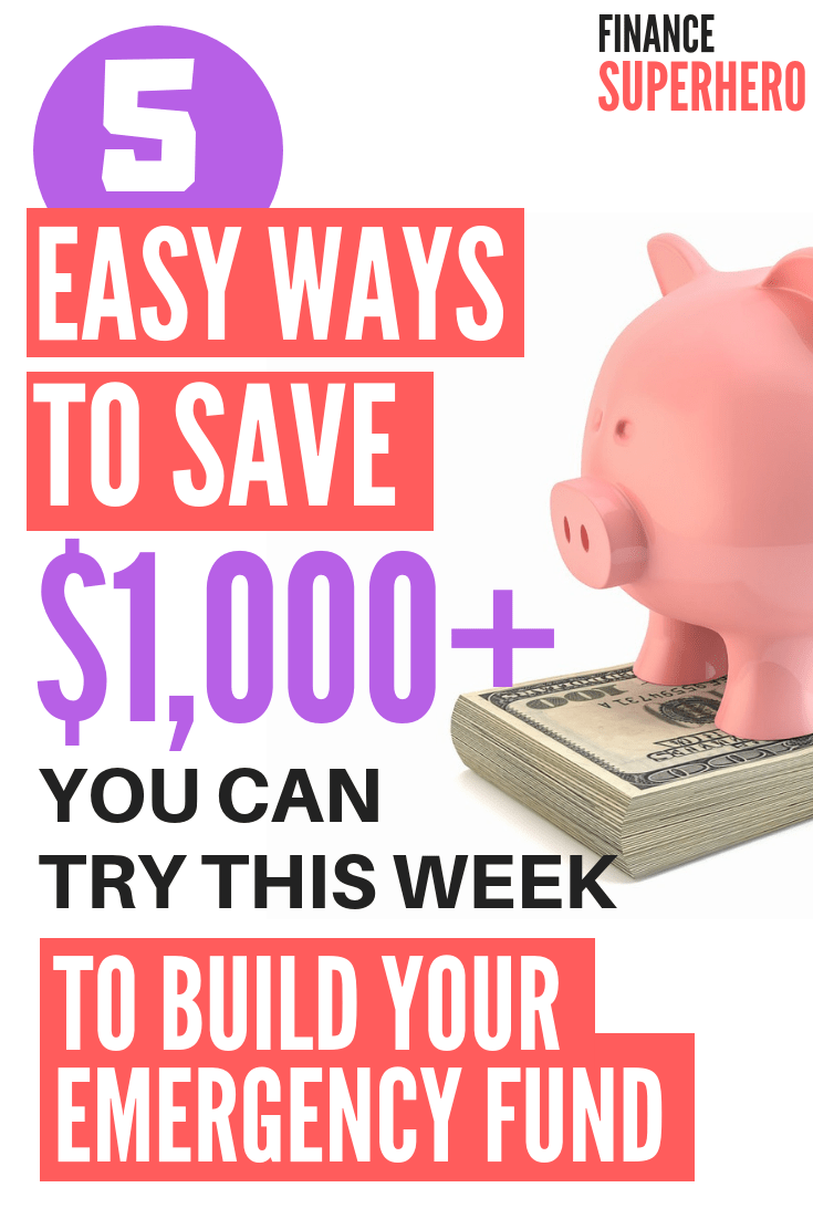 Experts agree: an emergency fund is the best way to protect your finances and avoid falling into credit card debt each time unexpected expenses arise. We'll show you how to save $1,000 fast and keep growing your emergency fund! #savemoney #emergencyfund #moneytips #daveramseybabysteps #babystepone